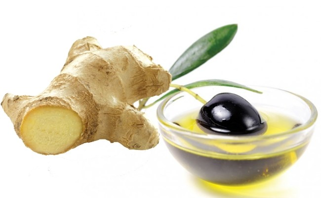 ginger-with-olive-oil